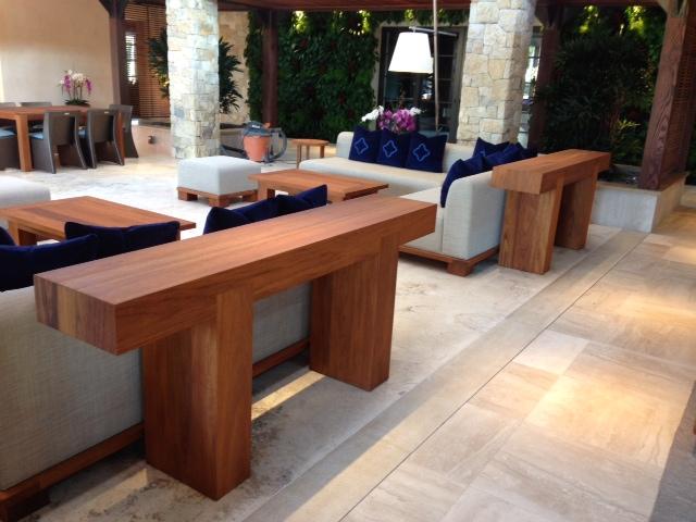 Custom Teak Furniture San Diego, Los Angeles, Palm Desert – Jose ...