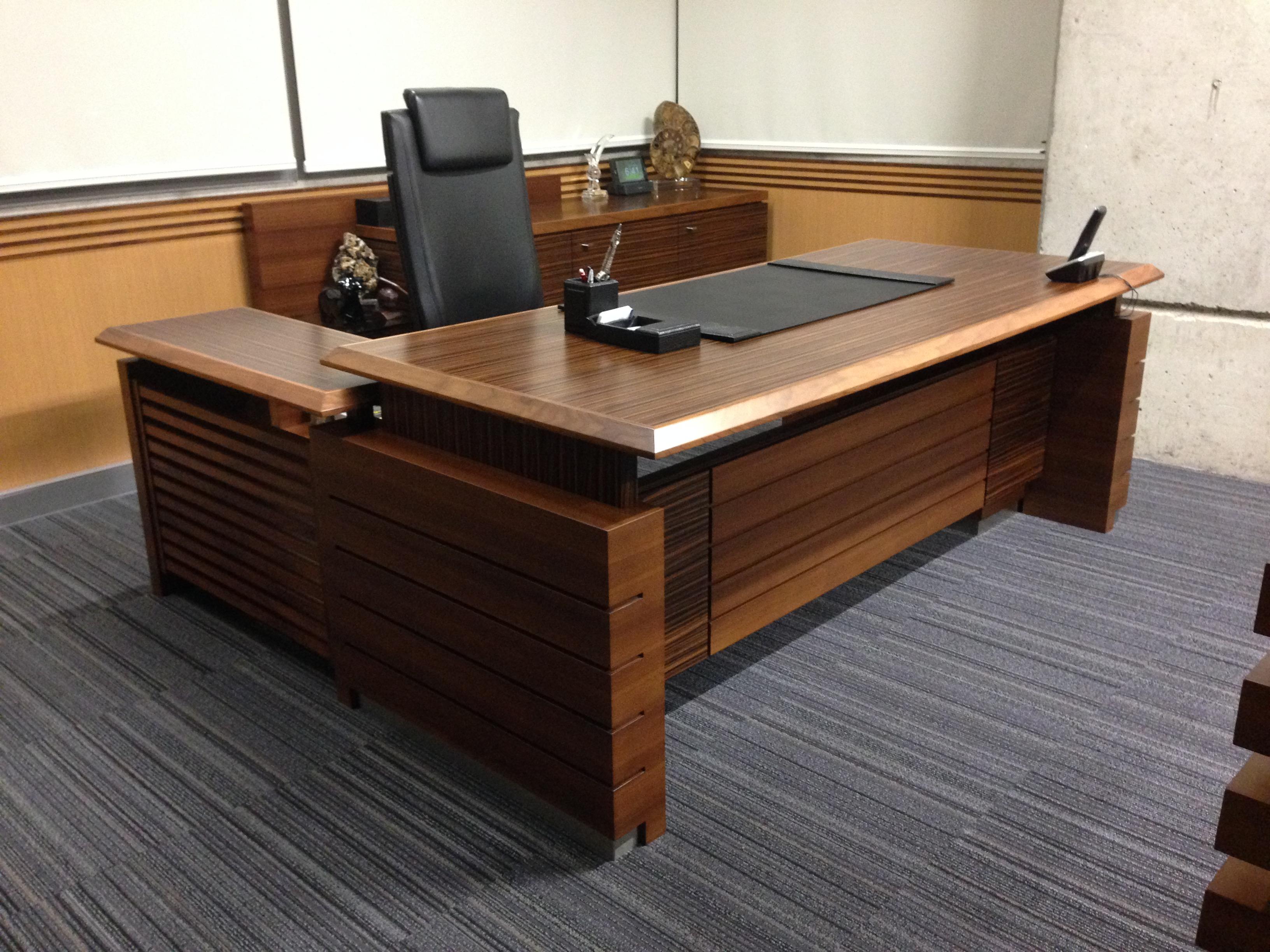 Corporate Offices Executive Desks Jose Bejarano