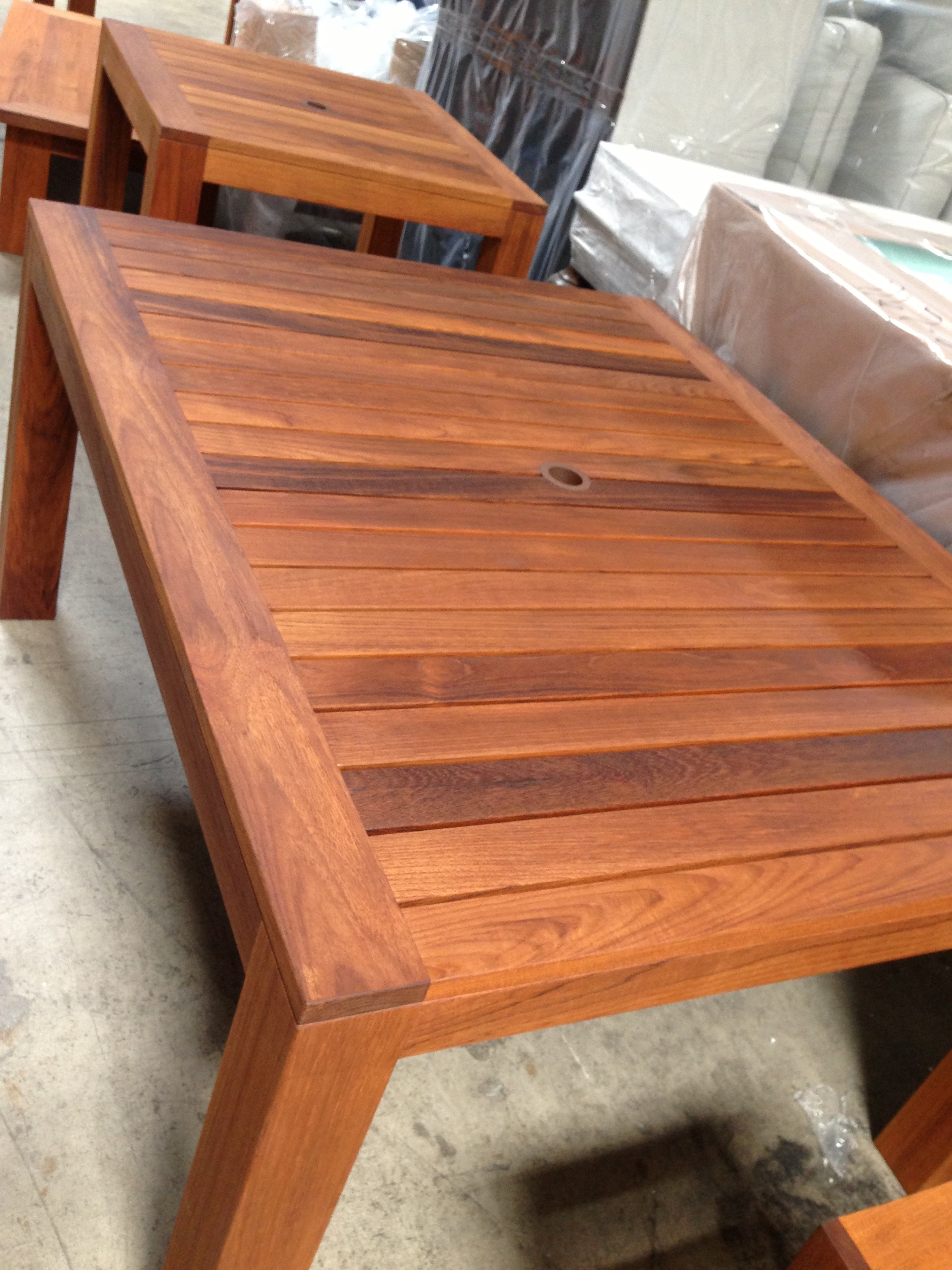 Custom Teak Furniture For Patio And Garden Jose Bejarano