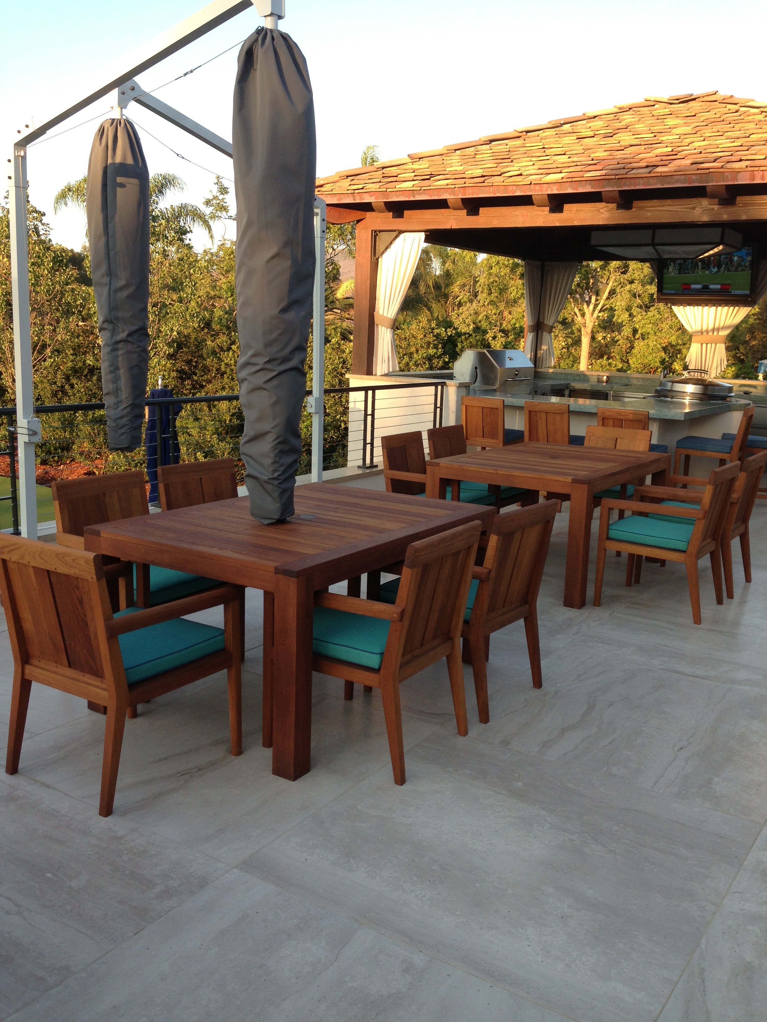 Custom Teak Furniture San Diego Los Angeles Palm Desert – Jose